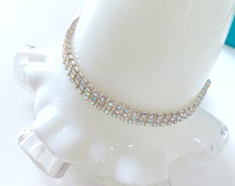 3-strand sparkle crystal bracelet