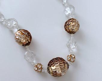 Retro DISCO necklace