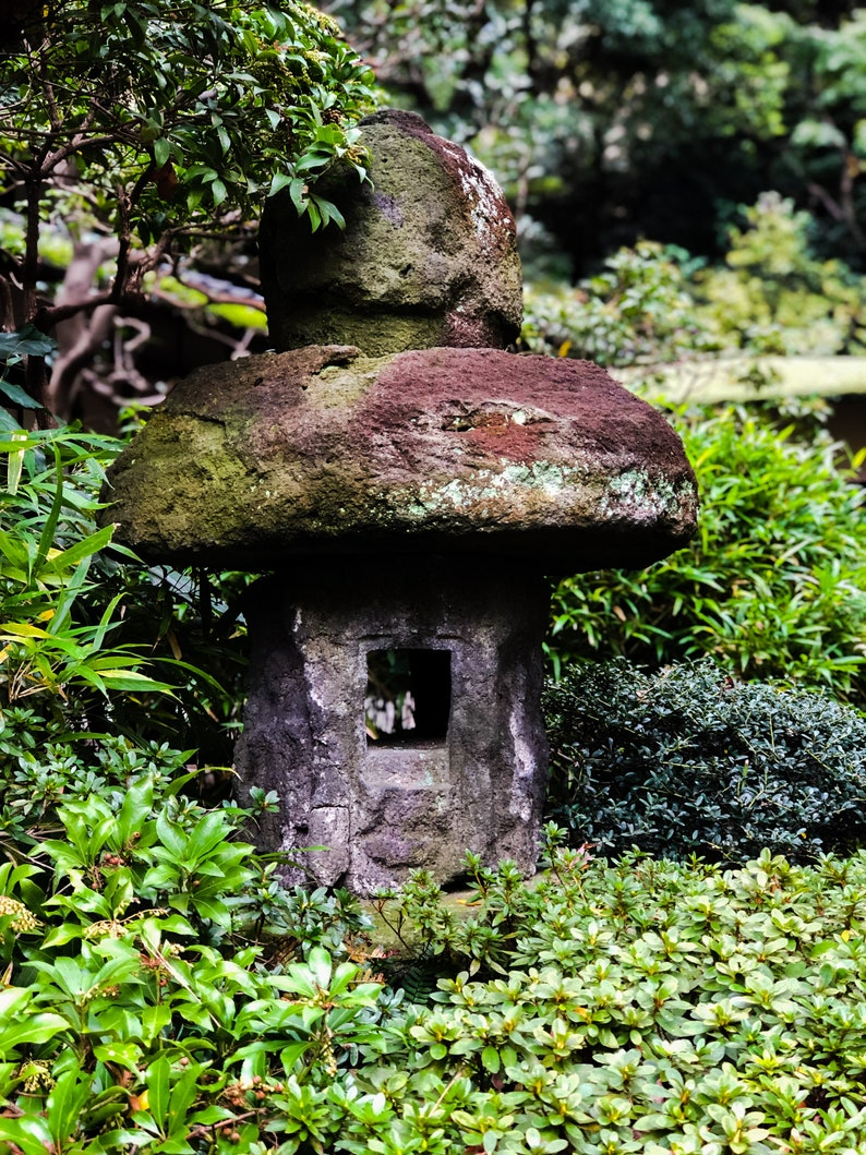 Sensational Stone Toad Stooljapanese Garden Pabps2019 Chair Design Images Pabps2019Com