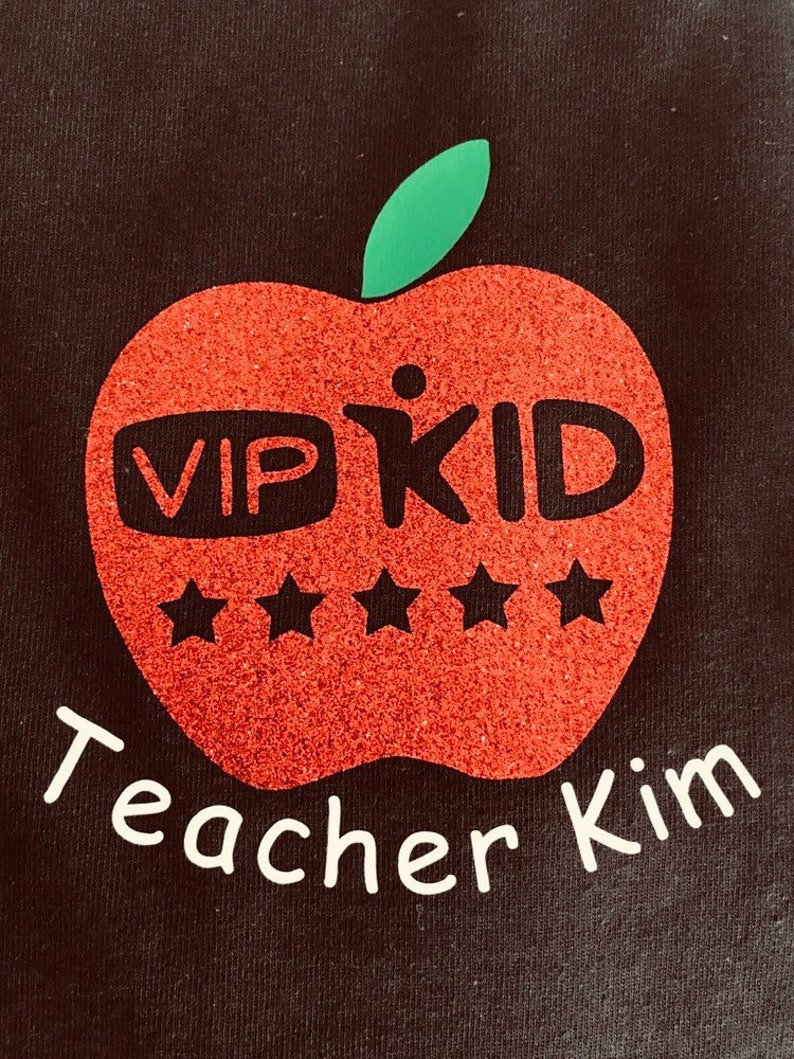VIPKID T-SHIRT with small Apple logo
