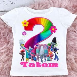Queen Barb Birthday Shirt Disney Trolls World Tour Tshirt,Trolls Birthday Shirt
