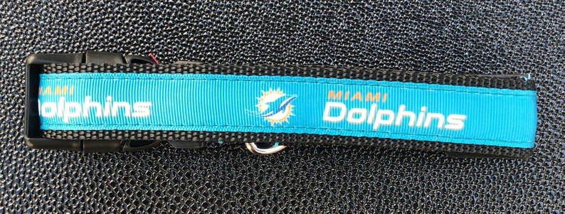 Miami Dolphins Inspired Dog Collar