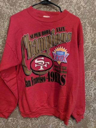 Vintage 90s San Francisco 49ers Crewneck Sweater XL