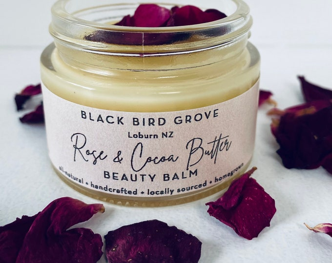 Featured listing image: Rose & Cocoa Butter Beauty Balm