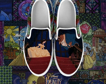 27d0ce5776e Beauty beast shoes | Etsy