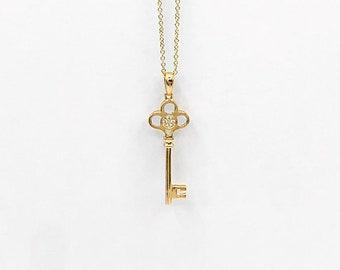 4df9cfbee Trefoil Key Pendant Necklace