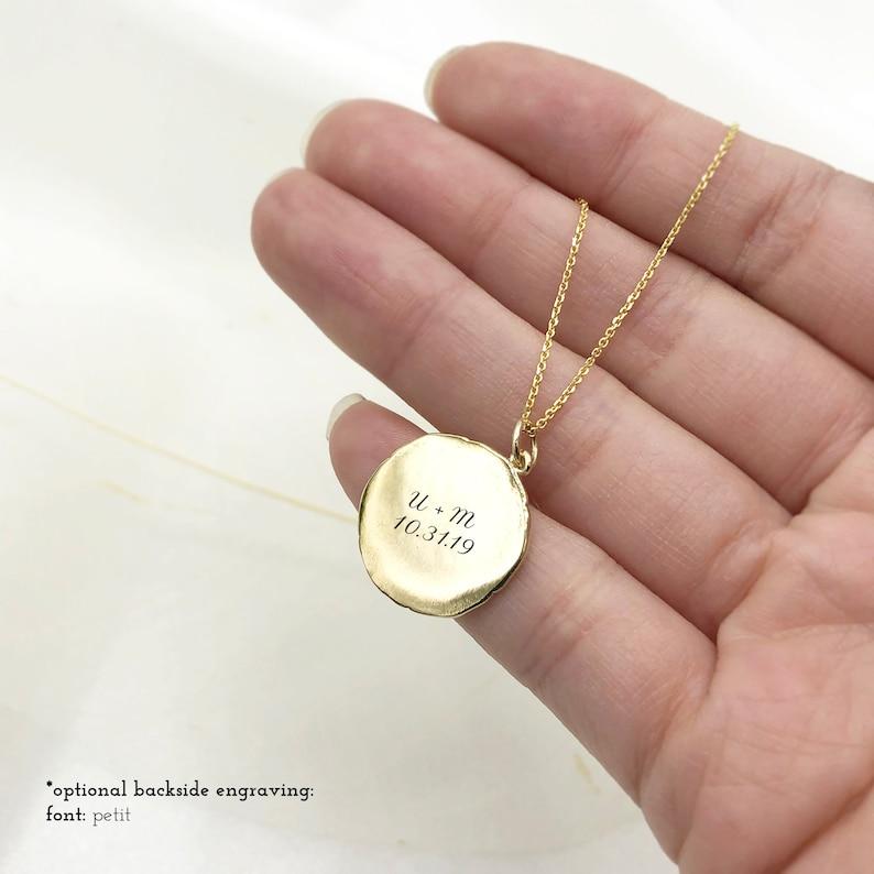Aries Zodiac Wax Seal Pendant Necklace