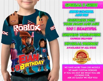 Roblox Birthday Etsy