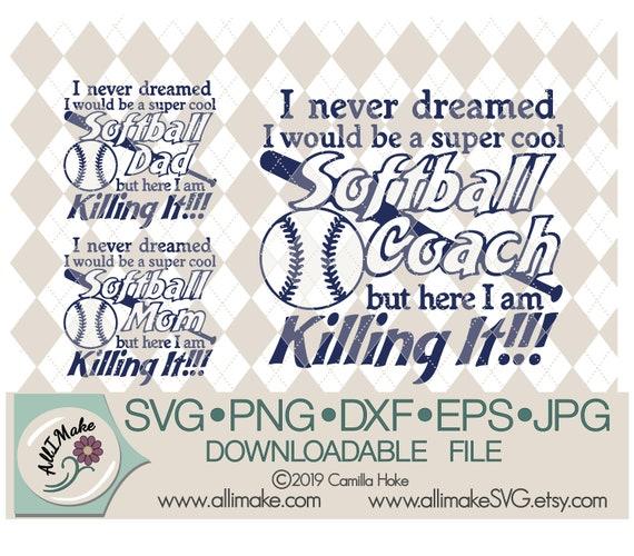 I Never Dreamed I Would Be A Cool Softball Nana Hoodie