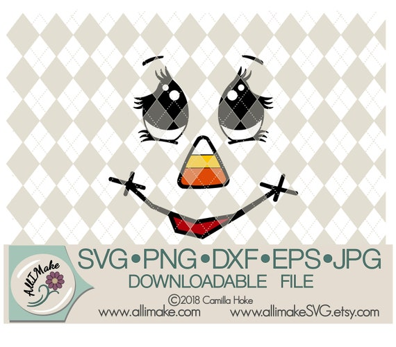 Svg File Scarecrow 12 Svg Dxf Eps Png Jpg Files For Etsy