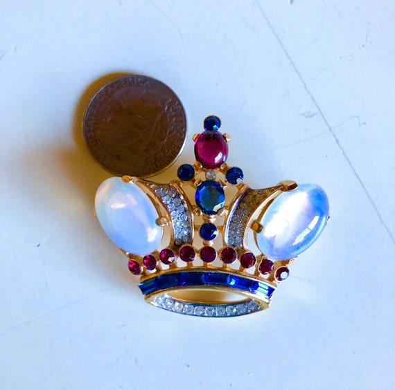 Vintage Crown Trifari Alfred Philippe Regal Crown