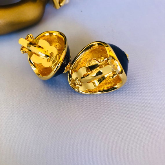 Vintage Joan Rivers Pearl Bracelet and Earrings - image 6