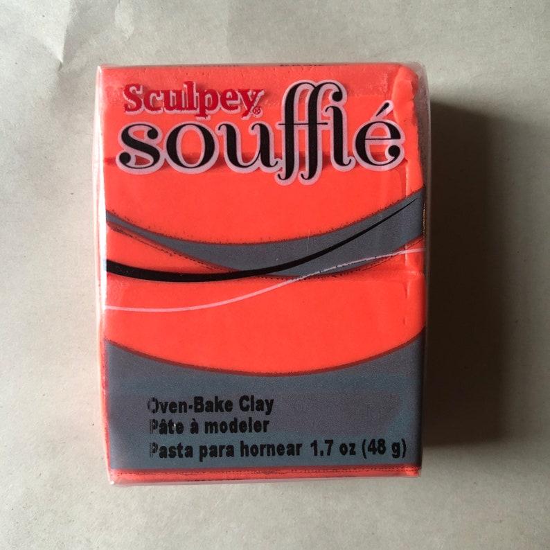 6009 Mandarin Sculpey Souffle Polymer Clay