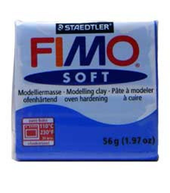 2 oz Staedtler indian red or peppermint FIMO Soft Modelling Oven Bake Clay 57g