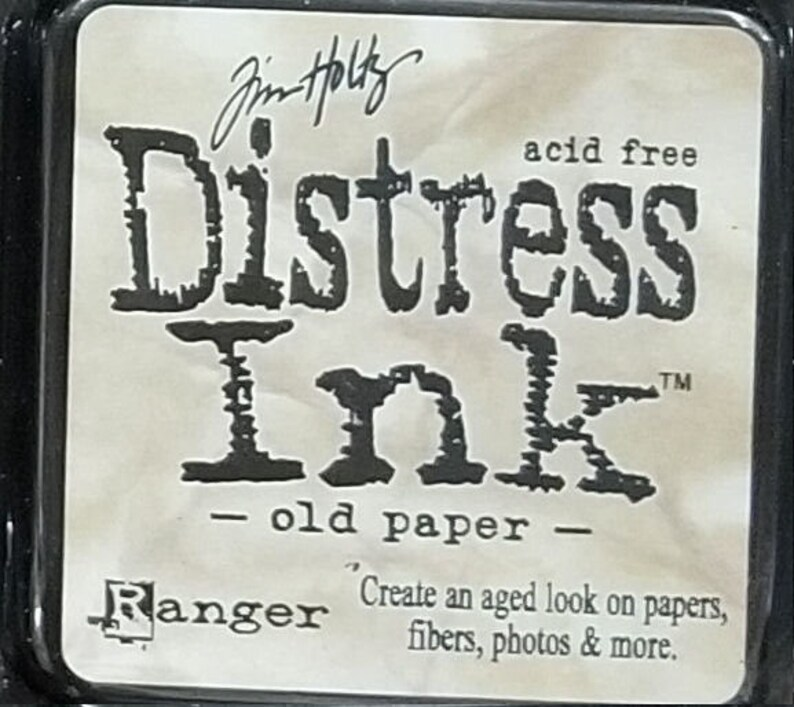 Old Paper- Tim Holtz Ranger Distress Ink Pads
