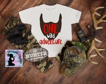9bc26c0b One Wild adventure- Boy's 1st birthday shirt- First birthday party- Birthday  gift- One wild birthday- Personalized