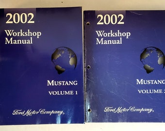 2002 ford mustang service manual