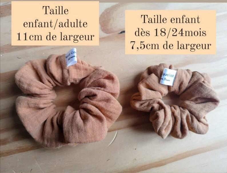 double gauze of cotton Oeko-tex Chouchou or trochie model Diego