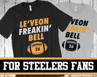 0b3641833 ... netherlands leveon freakin bell pittsburgh steelers t shirt jersey  number 26 funny football t shirt fanball