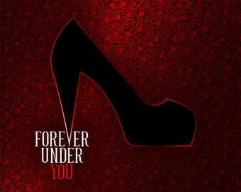Forever Under You - Greeting Card