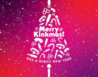 Merry Kinkmas - Greetings Card