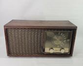 Vintage Retro ZENITH Tube Radio Model M730 AM FM Wood Cabinet Mid Century Modern