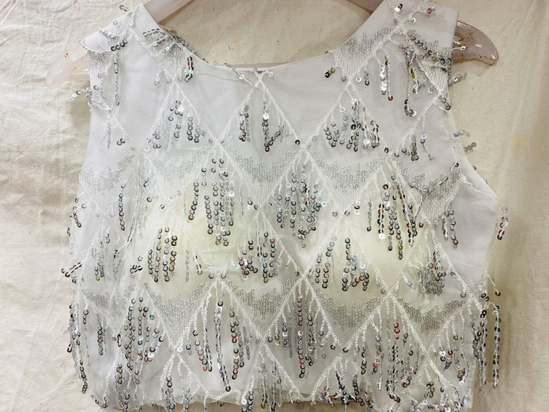 New Design Ready-made Beautiful TopFency BlouseCrop topCholi For SkirtParty wear Blouse B0104