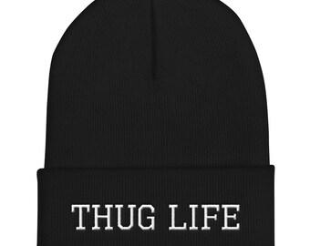 8f77a32b785 TUPAC Thug Life old school Beanie