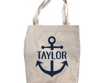 f51794f62196 Anchor tote bag | Etsy