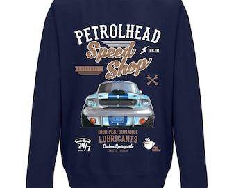 Koolart Petrolhead Speed Shop Motif /& Aventador Super car image mens T-Shirt