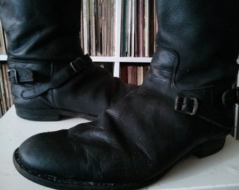 aa0f83c607634 Vintage AVIAKIT motorcycle boots biker 60s cafe racer 59 club ton up racer
