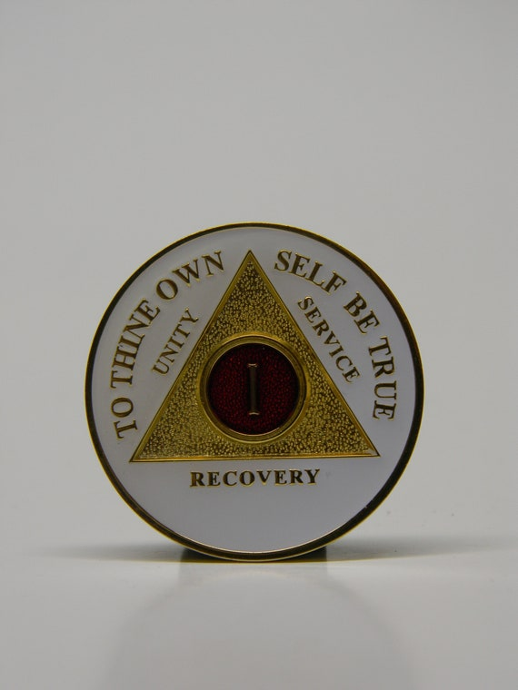 Dr Bob Rx Prescription AA Founders Medallion Always Remember It Sobriety Coin