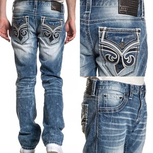 Men/'s Daquaeed2 Bagno 64 Baggy Loose amazing rare blue jeans size 48