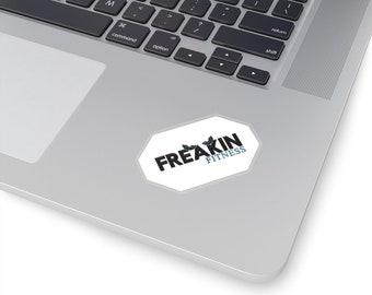 Freakin Fitness Kiss-Cut Stickers