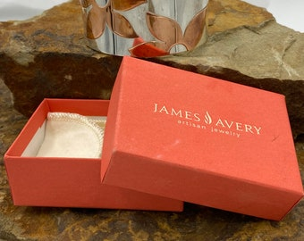 James Avery dolphin and hoop Retired nice hallmark excellent condition  925SS