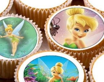 Disney frozen thème comestibles papier de riz cupcake gâteau d/'anniversaire toppers