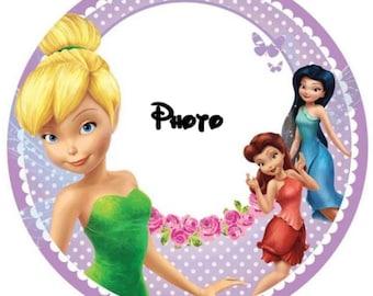 Disney Frozen Elsa 24 Personnalisé Pré-Découpé Comestible Cupcake Toppers Filles Fête