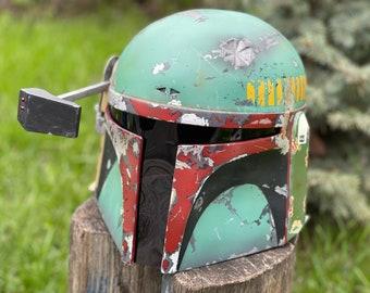 Boba Fett helmet, bounty hunter helmet, Cosplay boba Fett, ESB boba fett helmet, armor, boba fett ROTJ