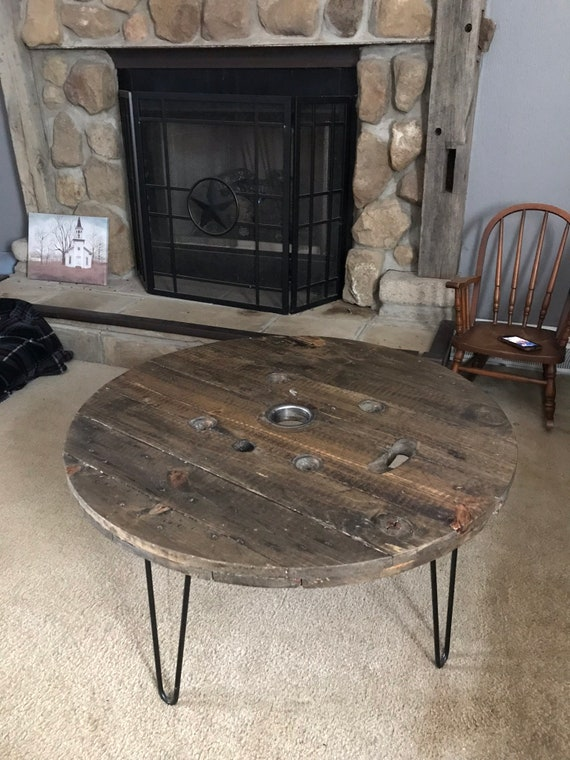 Excellent Spool Coffee Table Caraccident5 Cool Chair Designs And Ideas Caraccident5Info
