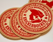 Vintage Knickerbocker Beer Coasters set of 10