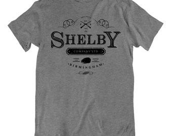 582d7d99980921 Shelby Company Logo Peaky Blinders Mens Funny T Shirt
