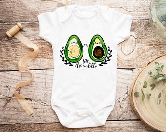97059386c Let's Avocuddle Onesie®, Avocado Onesie, Garden Onesie, Grow Baby Bodysuit,  Country Baby Shower Gift, Kawaii Baby Onesie, Unisex Baby Onesie