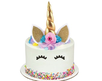UNICORN Cake Topper Unicorn Birthday Party Decorations For Or Baby Shower