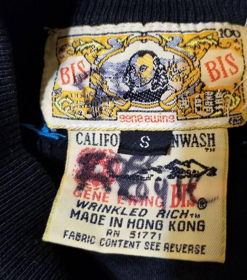 Bis Bis Black Long Sleeve Blouse By Gene Ewing