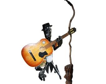 In Flavor Holz-spieluhr Gitarre Fragrant