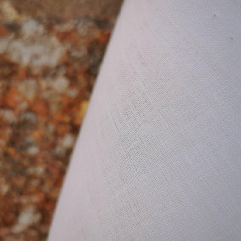 Linen fabric 260cm wide natural white 155 gsm 100/% linen