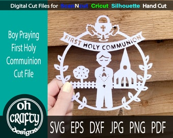 0038 Girl First Communion SVG files First Communion SVG cut file First Communion Girls Design Svg File First Communion Girl SVG Cricut