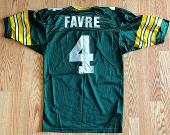 Vintage Brett Favre Champion Jersey  0776f702b