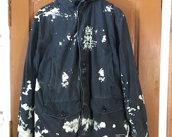 0294f69e9 Stussy parka outer gear acid wash m65 jacket very rare to wear LIKE bape  cdg nike Carhartt bitch skateboard Size: US L / EU 52-54 / 3