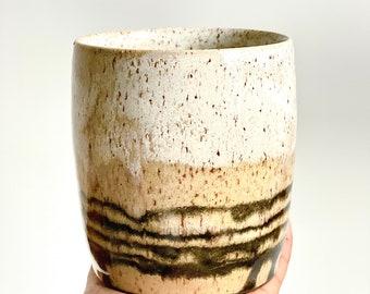 Ceramic ring dish Jewelry holder Smudge dish Trinket dish Ashtray Palo Santo holder  Handmade pottery Infused glass